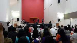 breakthrough prayer - house of sacrifice depok