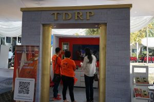 TDRP Booth in Empowered 21 Asia